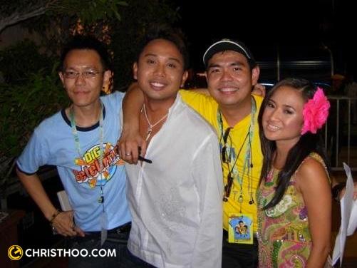 Chris Thoo, Baki Zainal, Alan Thoo and Juliana Ibrahim
